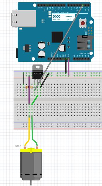 Automatische plantenbak :: TkkrLab Arduino cursus